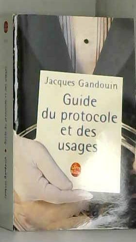 Guide du protocole et des...