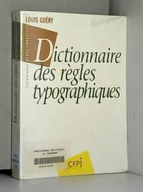 Dictionnaire des règles...