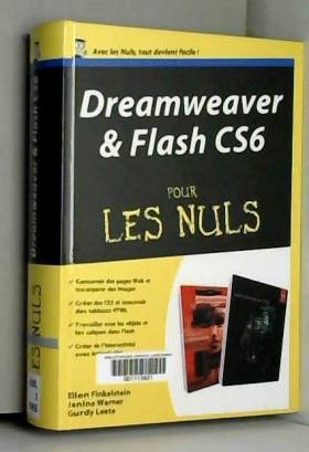 Dreamweaver et Flash CS6...