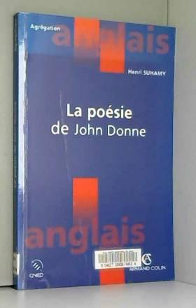 La poésie de John Donne