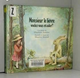 Monsieur le lièvre,...
