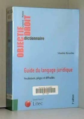 Guide du langage juridique...