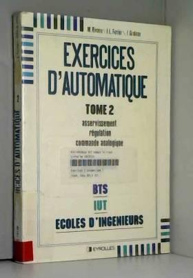 Exercices d'automatique,...