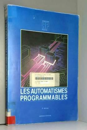 Les automatismes programmables