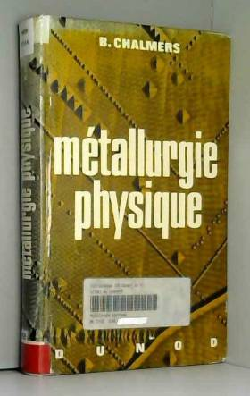 Métallurgie physique -...