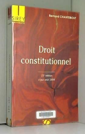 Droit constitutionnel : A...
