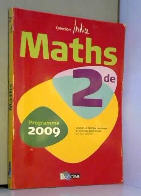 Indice 2de &x2022 Manuel de...