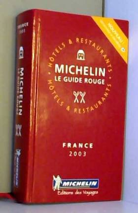 Guide Rouge : France 2003