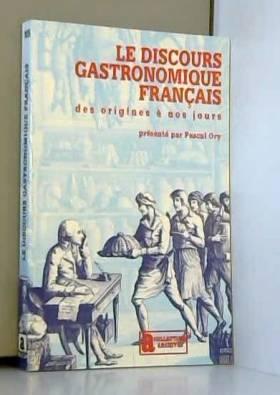 Le Discours gastronomique...