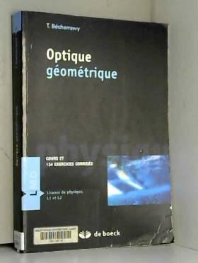 Optique géométrique : Cours...