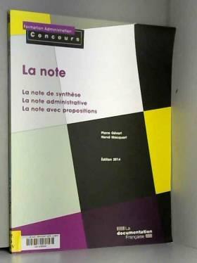 La Note : La note de...