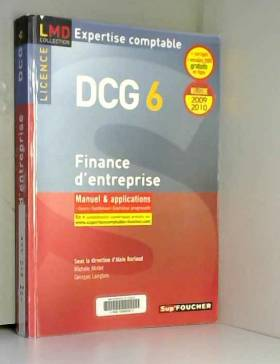DCG 6 Finance d'entreprise,...