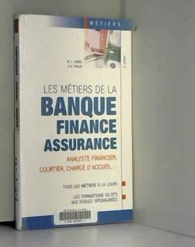 Les métiers de la banque,...