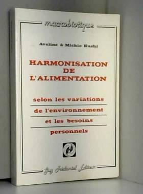 Harmonisation de...