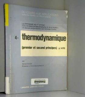 Thermodynamique : Premier...