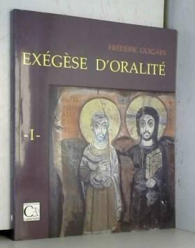 Exegese d'Oralite