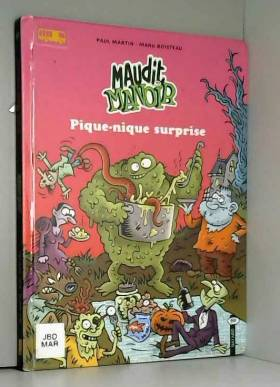 Maudit Manoir, tome 1 :...