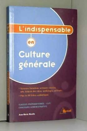 L'indispensable en culture...
