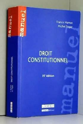 Droit constitutionnel,...