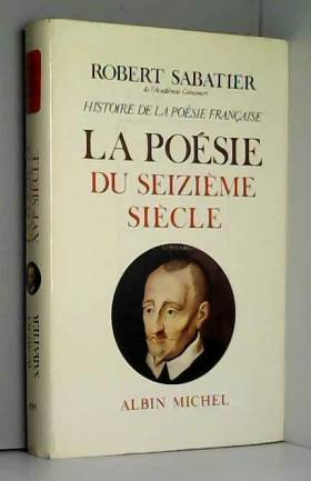 HISTOIRE DE LA POESIE...