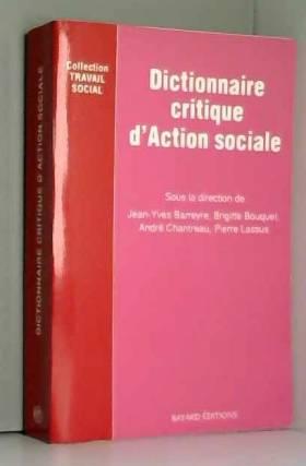 Dictionnaire critique...