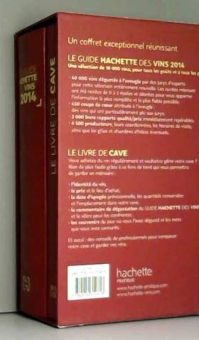 Collectif - Coffret Guide Hachette des vins + Livre de cave