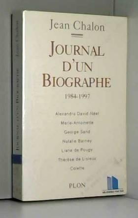 Journal d'un biographe...