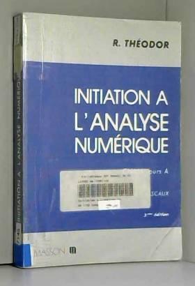 Initiation à l'analyse...