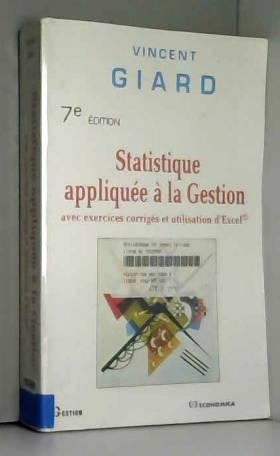 Statistique appliquée à la...