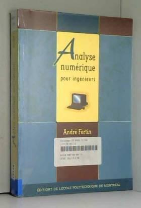 Analyse numérique pour...
