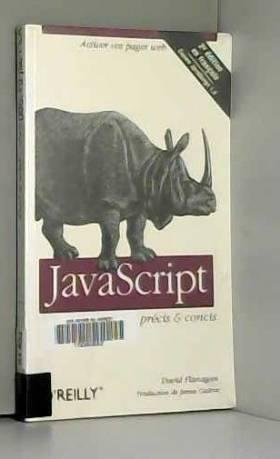JavaScript : Précis et...