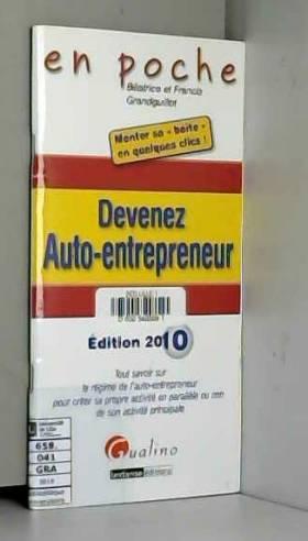 Devenez auto-entrepreneur :...