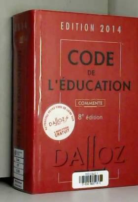 Code de l'éducation 2014,...