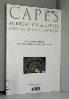 Epreuves de mathématiques...