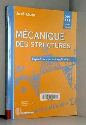 Mécanique des structures:...