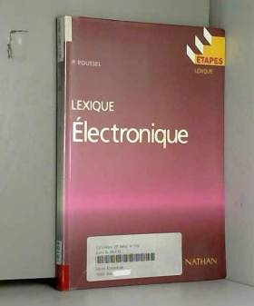 ELECTRONIQUE. : Lexique