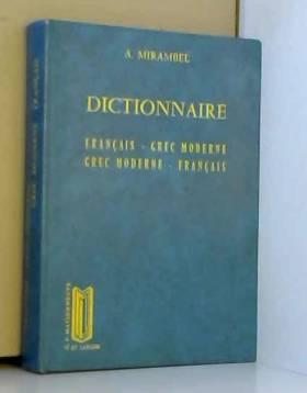 DICTIONNAIRE FRANCAIS/GREC...