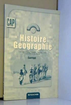 Histoire Géographie, CAP :...