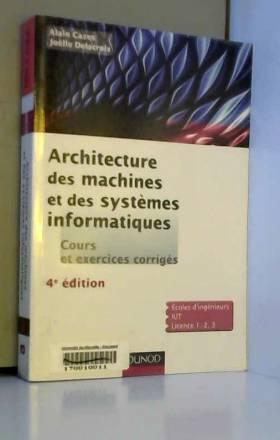Architecture des machines...
