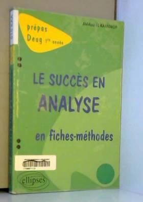 Le succès en analyse en...
