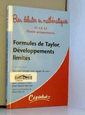 Formules de Taylor,...