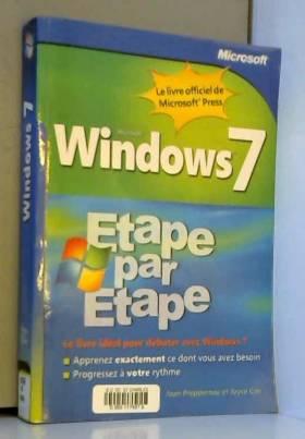 Windows 7 - Étape par Étape
