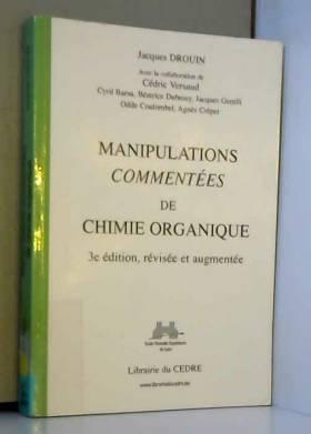 Manipulations commentées de...