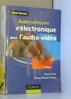 Aide-mémoire d'électronique...
