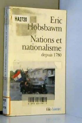 Nations et nationalisme...
