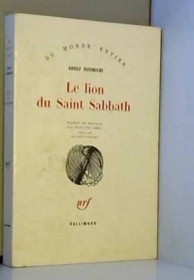 Le Lion du Saint Sabbath