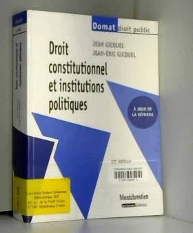 Droit constitutionnel et...