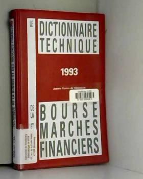 Le dictionnaire technique...