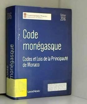 Lexis Nexis et Michel Roger - Code monégasque
