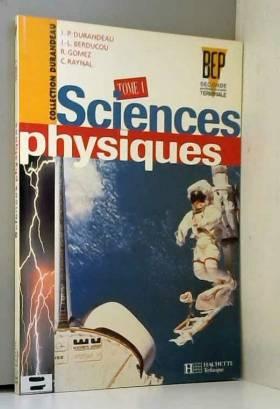 Sciences physiques BEP,...